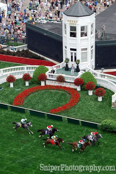 The Kentucky Derby..We will be going next year. I can't wait to throw on a crazy hat.