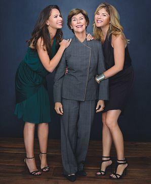 First Lady Laura Bush, Barbara Bush, Jenna Bush