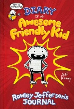 In His First Journal Middle Schooler Rowley Jefferson Greg Heffley S Sidekick Records His Experiences And Misguid Rowley Jefferson Wimpy Kid Books Wimpy Kid