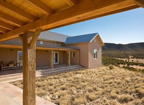 Tandem 08 Archaeo Architects Spanish Style Homes New Mexico Homes New Mexico Style