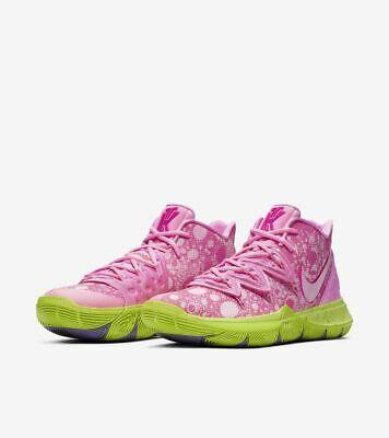 Nike Kyrie 5 x Spongebob Squarepants Lotus Pink GS Men ...