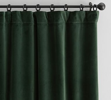 Velvet Twill Curtain Ivory Curtains Green Curtains Ivory