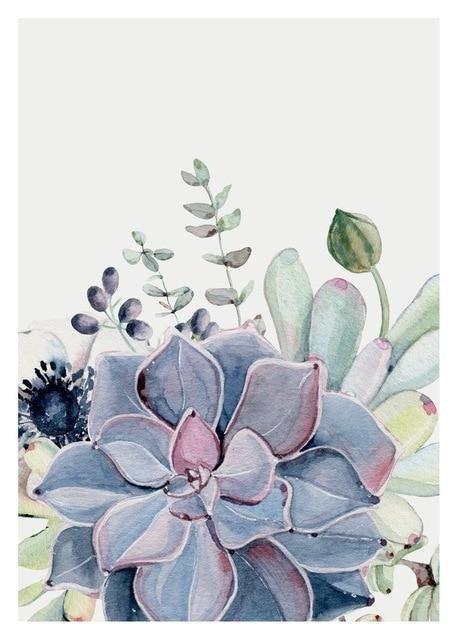 Best Watercolor Cactus 5d Diy Embroidery Cross Stitch Diamond