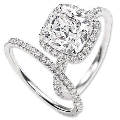 Harry Winston Diamond Engagement Ring