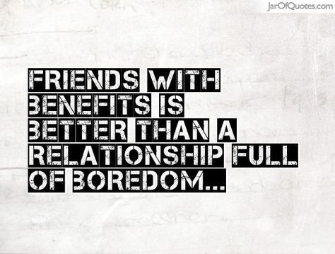 rules for a friends with benefits relationship