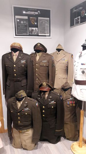 Uniformes de la Fuerza Aerea USAAF, de la segunda guerra mundial.