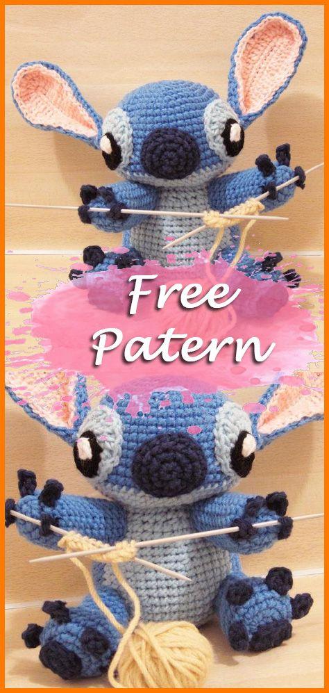 Stitch amigurumi pattern | Crochet patterns amigurumi, Crochet ... | 997x474