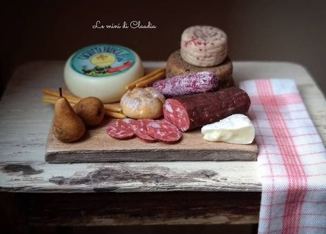 cold cuts doll/'s house miniature vlees ** cl10 Meat dishes meat