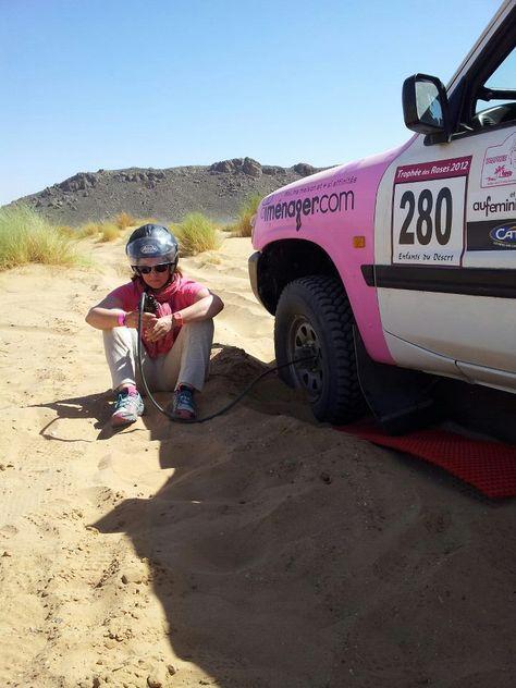Trophée Roses des sables - 3e jour dans le désert : Mcissi - Région de Merzouga