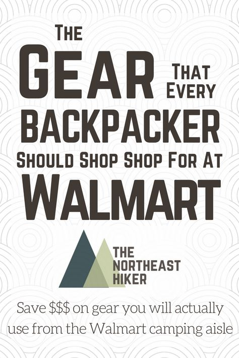 buy backpacker gear
