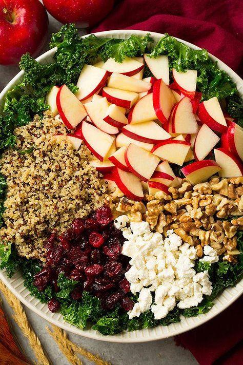 Quinoa Recipe #quinoarecipes | Ensalada de col rizada