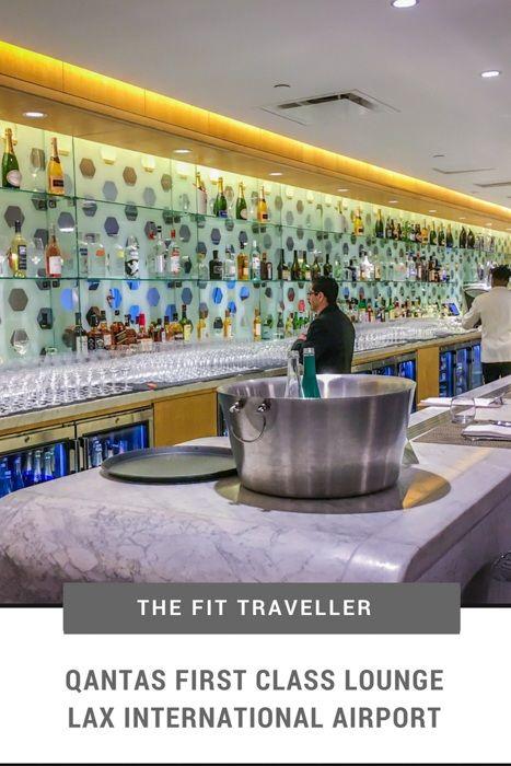 Qantas First Class Lounge Lax International Airport Luxury Lifestyle Travel First Class Hotel Travel Usa