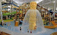 Kalahari resort indoor water park, Wisconsin Dells - another favorite family spot. Wisconsin Dells is a lot of fun.