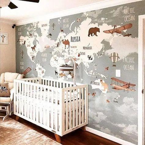 40 gorgeous baby boy nursery ideas to inspire you 14 » cityofskies.com #nueserydesign #nurseryforgilrs #nurseryorganization