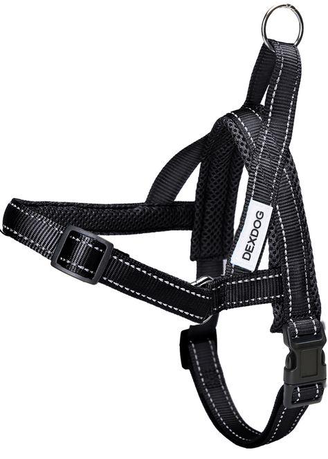 Dexdog Easy Walk Dog Harness Black X Small Xs Easier Than Step