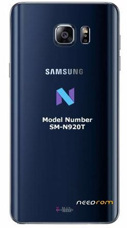 GALAXY Note 5 / SM-N920T Official Samsung Firmware | Repair