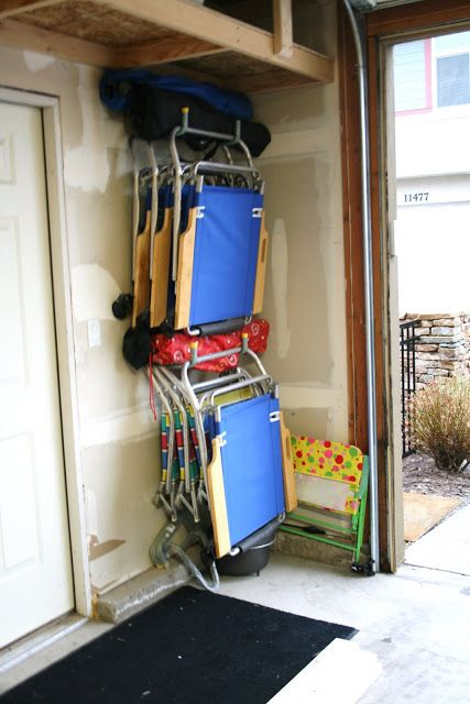 The 103 Best Garage Storage Images On Pinterest Organisation Folding Chair Ideas Pallet System Lawn