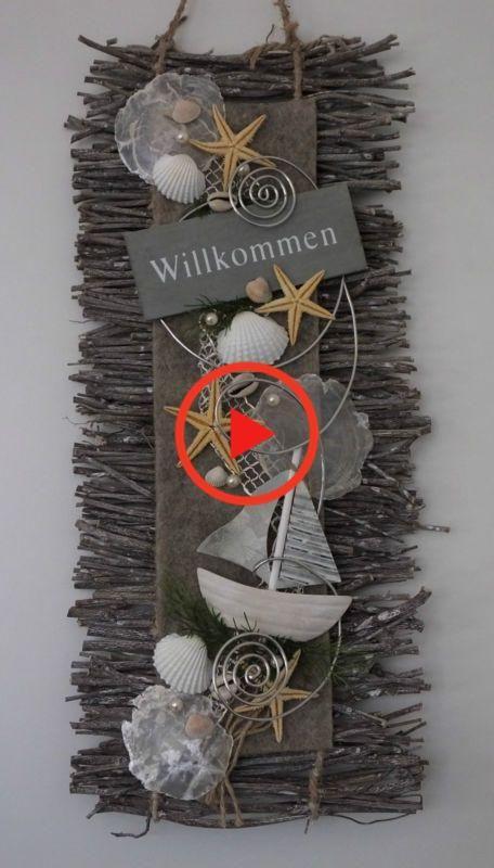 Door Krans Deur Decoratie Welkom Muur Het Hangen Vilt De Zomer Maritiem Decoration Di Door Decorations Felt Wall Hanging Seashell Crafts