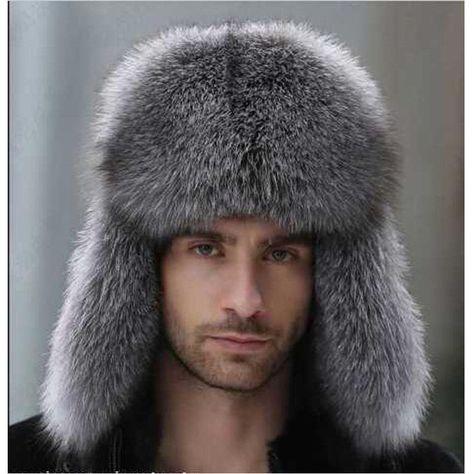 28dd6578570 Hot Sale Men s Style Winter Fur Hats Russian Ushanka Cossack Trapper Gift   ebay  Fashion