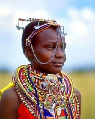 Who said you can ever have too many beads? #africa #beads #jewelry #necklace #meme