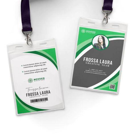 Creative Business ID Card Layout