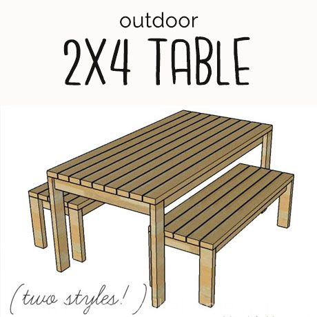 Furniture Plans | Build outdoor furniture, Diy outdoor