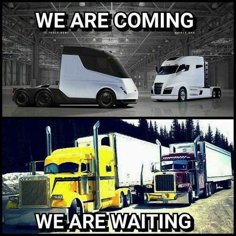 We are coming Vs We are waiting 😍😍 Truck Memes, Car Jokes, Funny Car Memes, Funny Cars, Big Rig Trucks, Cool Trucks, Semi Trucks, Custom Big Rigs, Custom Trucks