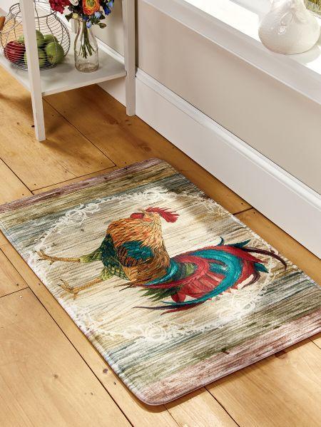 Memory Foam Floor Mat, In 2 Styles | Farmhouse Kitchen in ...