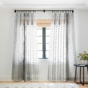 Modern Cotton Blend Solid Room Darkening Rod Pocket Curtain Panels Allmodern Panel Curtains Curtains Drapes Curtains