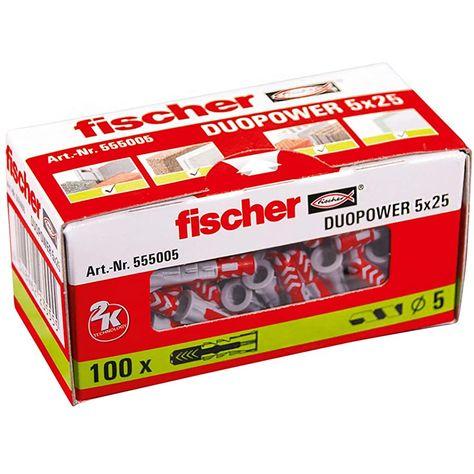 fischer- #fischer #-Cheville #- #Chevillebi-matière #Cheville #bi-matièreet #bi-matière #etmulti-matériaux #et #multi-matériauxDUOPOWER #multi-matériaux #DUOPOWER5x25 #DUOPOWER #5x25/ #5x25 #/Boîte #/ #Boîtede #Boîte #de100 #de #100