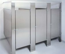 Stall Walls Stainless Steel Toilet Partitions