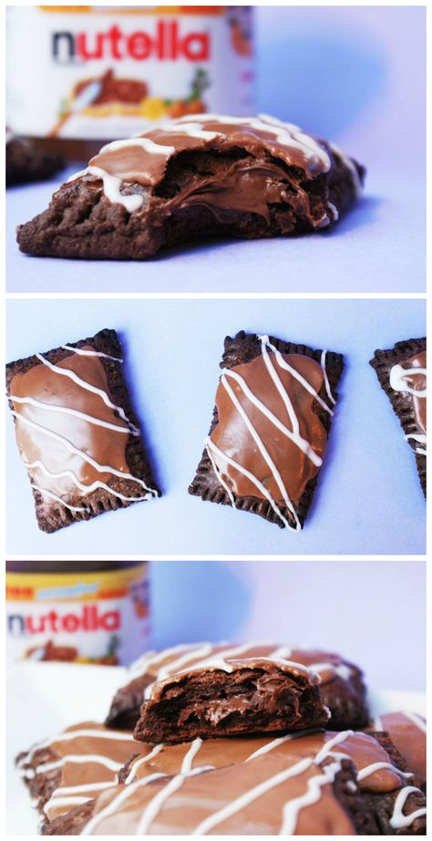 Learn to not only make pop tarts at home, but pop tarts that are stuffed with gooey, delicious Nutella!