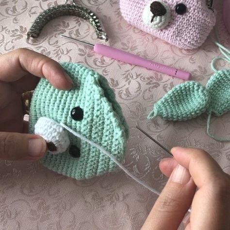 Plush Bunny amigurumi crochet pattern, Stuff animals pattern, crochet rabbit pattern, Crochet Easter pattern #amigurumi #amigurumibunny #crochettoys #crochetbunny #crocjetpattern - craftIdea.org