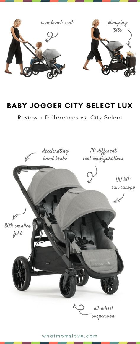 Baby Jogger City Select Lux Review The Super Adaptable Stroller That Grows With Your Family Baby Jogger City Select Toddler Stroller Baby Jogger