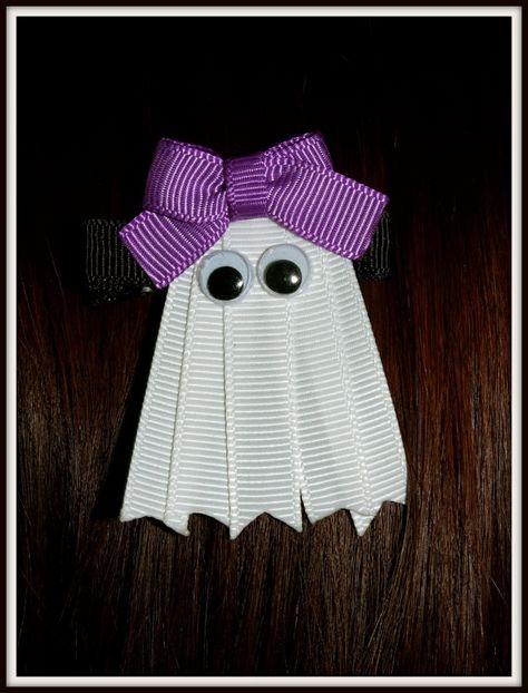 Halloween ribbon ghost.