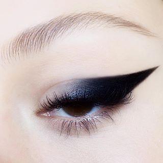Another Eyeliner Look Lucygarland Editorialmakeup Black