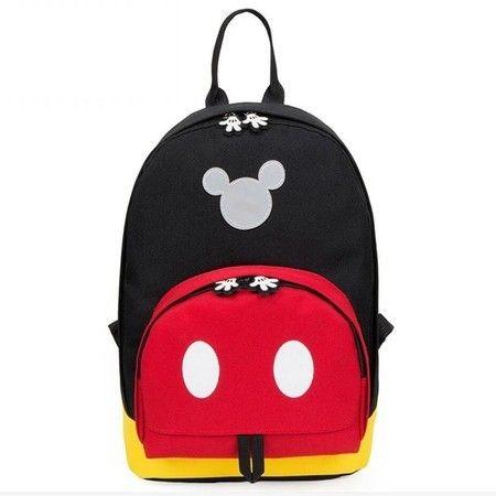 Disney Kids Mochila Minnie Mickey Mouse saco de escola Dos