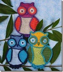 How to crochet an owl - tutorial