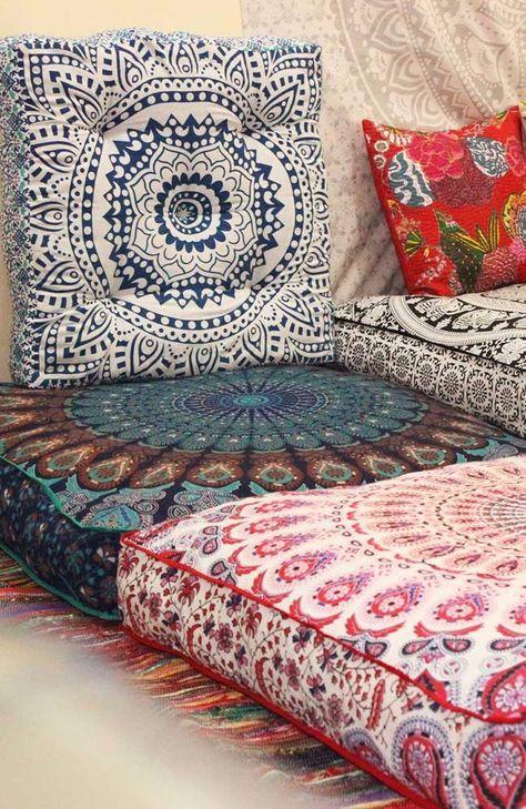 floor cushions boho floor pillows