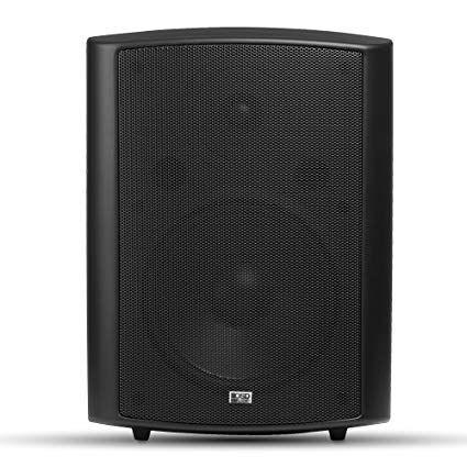 Osd Audio Ap840 Black Inch 200w 2 Way Indoor Outdoor Weather Resistant Patio Speakers Pair Black Review Indoor Outdoor Outdoor Speakers Indoor