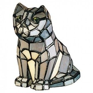 Tiffany Cat Lamp Ideas On Foter In 2021 Cat Lamp Tiffany Glass Cat Stain