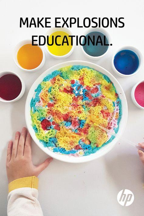 Science Experiments For Preschoolers, Preschool Science, Preschool Learning, Science For Kids, Fun Crafts For Kids, Projects For Kids, Diy For Kids, Toddler Learning, Toddler Activities