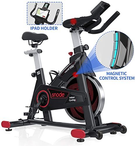 Best Seller Snode Indoor Cycling Bike Stationary Spin Bike Exercise Bike Tablet Holder Lcd Monitor Professional Cardio Workout Indoor Home Cardio Exercis In 2020 Biking Workout Indoor Cycling Bike Stationary Spin Bike