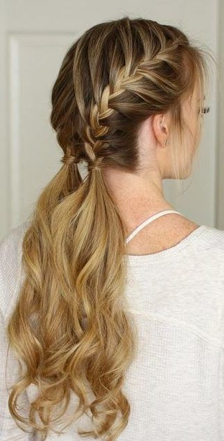28 Braided Pigtail Braids For Short Hair You Will Braidhairstylespigtails Braided Brai French Braid Hairstyles Braided Hairstyles Braided Hairstyles Easy