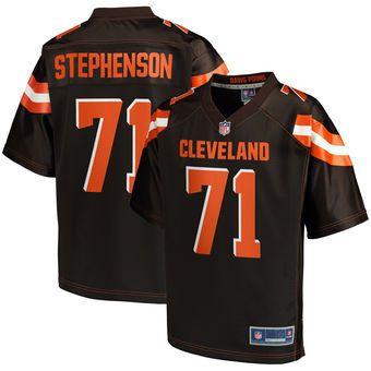 Donald Stephenson Cleveland Browns NFL Pro Line Player Jersey ...