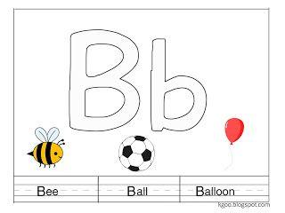 الحروف الانجليزية وأنشطة رائعة على حرف B Balloons Teach Arabic Gaming Logos