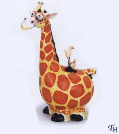 Russ Berrie Kookie Kritters Ceramic Giraffe Figurine 33 99 Giraffe Figurine Giraffe Figurines