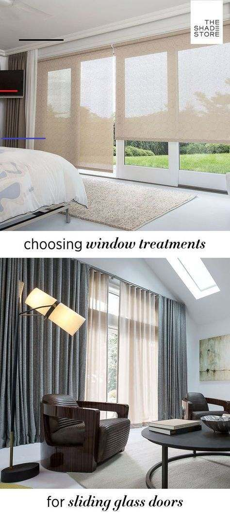Window Treatments For Sliding Glass Patio Doors The Shade Store Sliding Glass Door Curtains Sliding Glass Door Window Sliding Patio Doors Window Treatment
