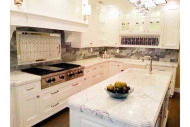 Kitchen Countertop Materials   White shaker kitchen, White ...