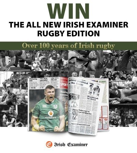 Win The All New Irish Examiner Rugby Edition Irish Rugby Rugby Competition